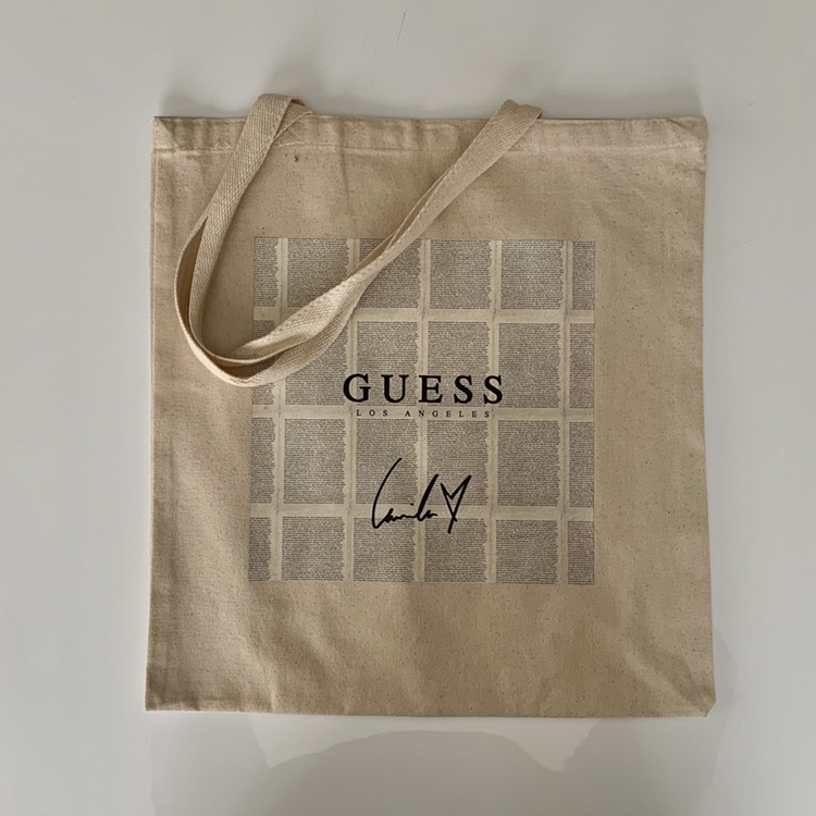 OFFICIAL LIMITED EDITION Camila Cabello x GUESS Tote