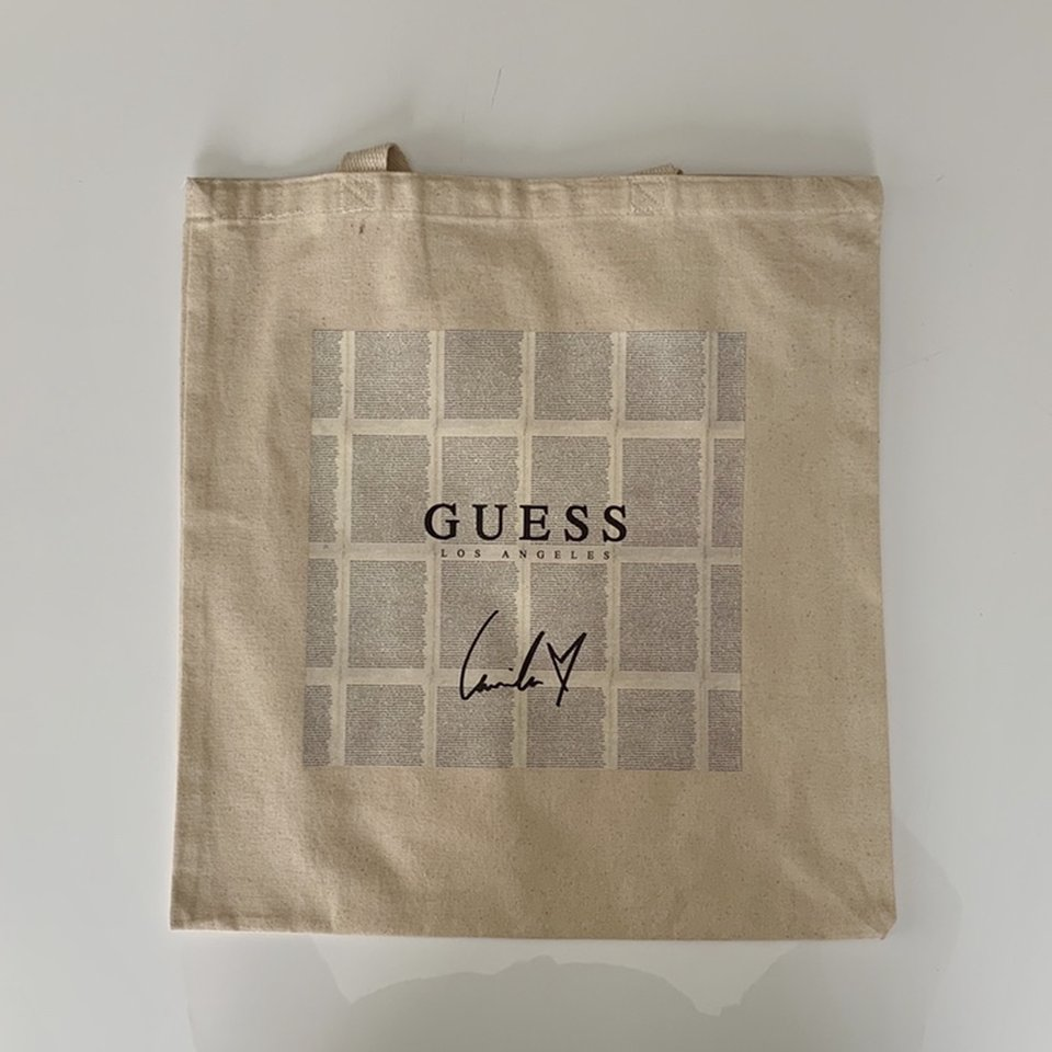 OFFICIAL LIMITED EDITION Camila Cabello x GUESS Tote Depop