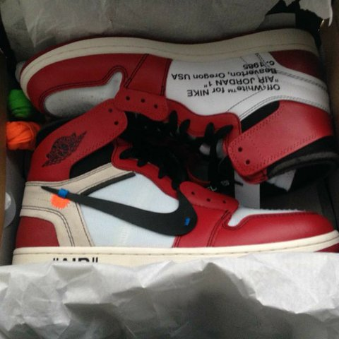 397558ea1f13b7 Off-White x Nike Air Jordan 1 Brand new only one pair Any - Depop