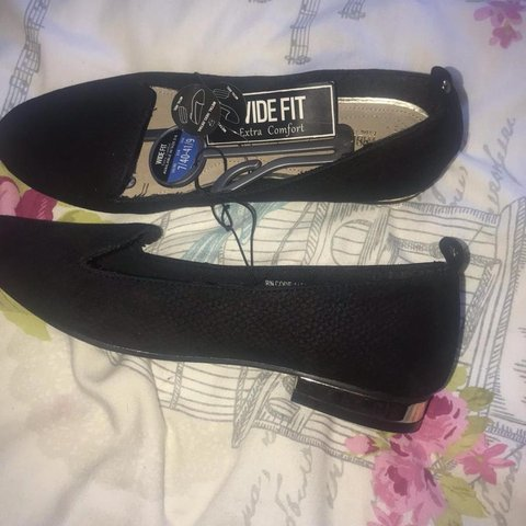 Primark size 7 wide fit shoes. Brand