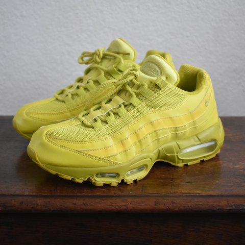 "f7d1b320c4 2011 Nike Air Max 95 ""High Voltage"". Ladies 8.5. Good, worn - Depop"