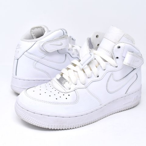 634f785e6 @ofalltime. 6 months ago. Long Beach, United States. Nike Air Force 1 mid. Size  4.5Y= ...