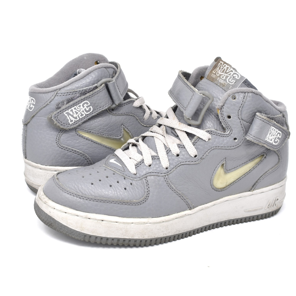 "1998 Nike Air Force 1 Mid ""Crown Jewel NYC"". Mens US"