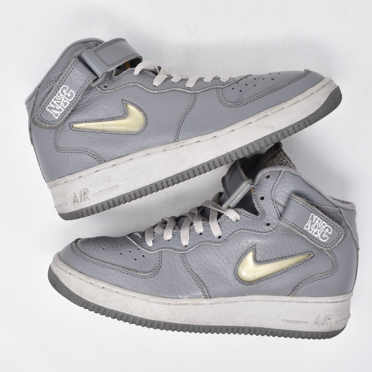 "1998 Nike Air Force 1 Mid ""Crown Jewel NYC"". Mens US Depop"