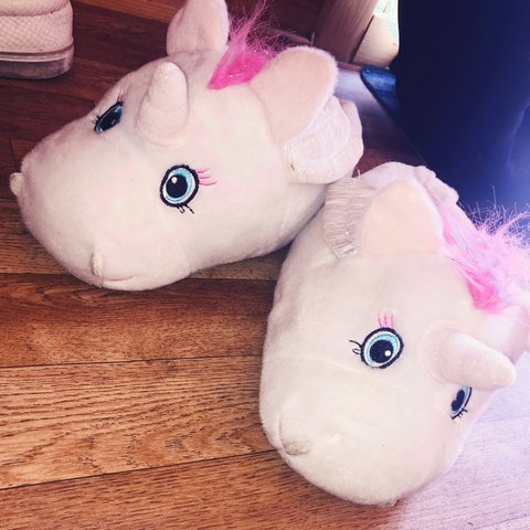 2b64b31d60c5 Unicorn new look slippers! Perfect condition