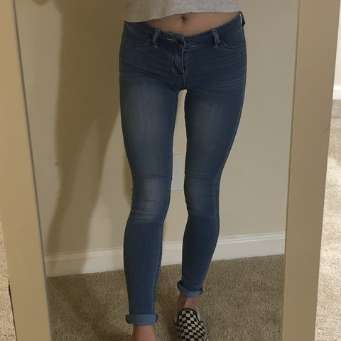 92cb724677fbf @julianapdx. 11 months ago. San Diego, United States. Abercrombie & Fitch: Blue  super soft jeggings. Size 00 ...