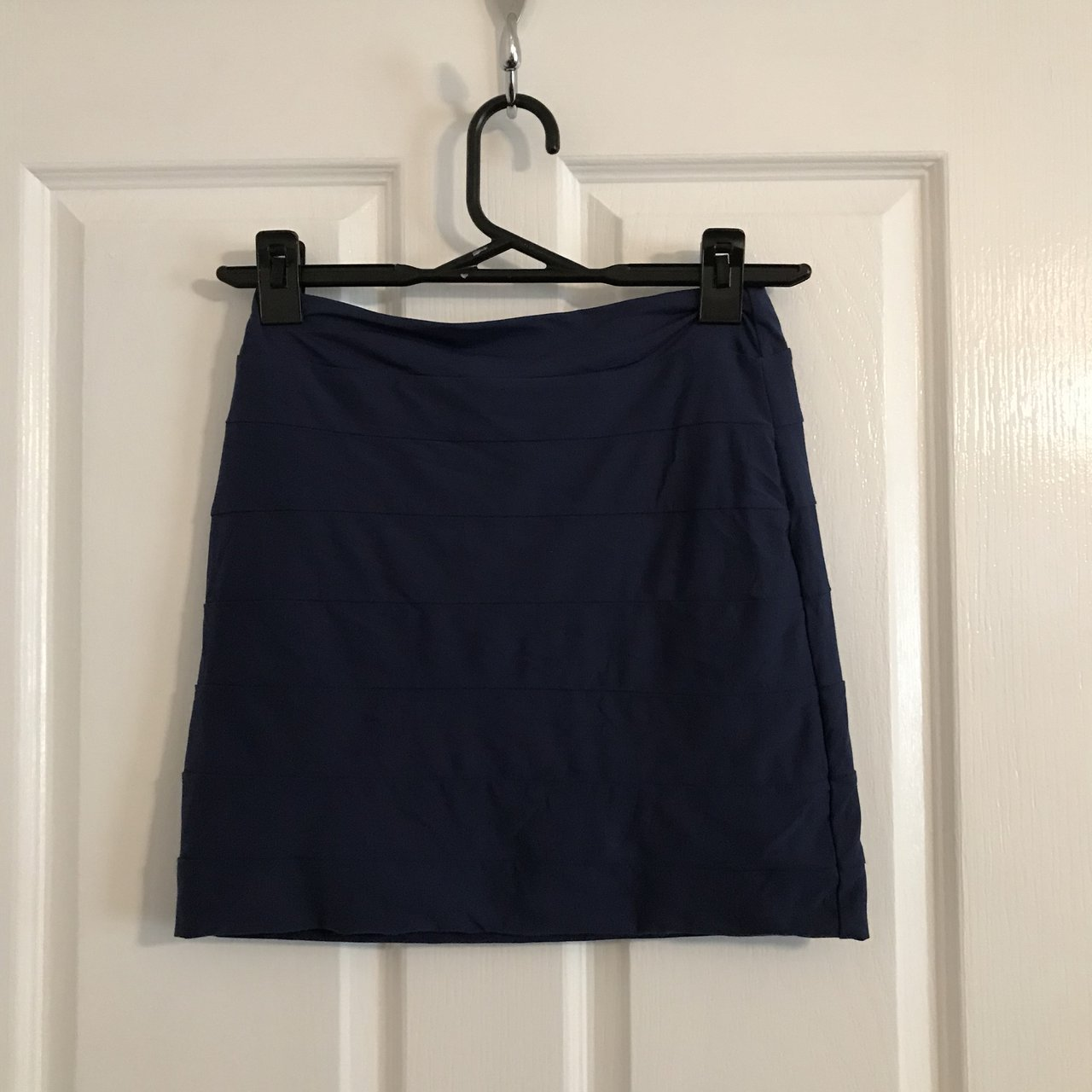 KOOKAI bodycon skirt navy blue. I m great condition. Only - Depop 0abf06e13