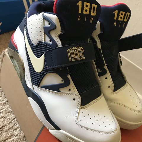 differently 7c126 5fa54  rickyontherun. 10 months ago. SeaTac, United States. Nike Air Force 180  Olympic Barkley Size 10.5