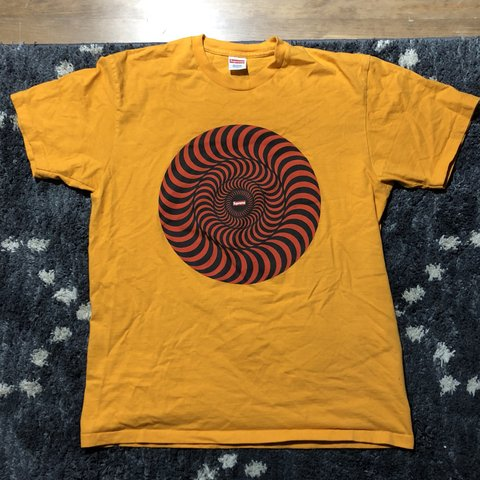b8ec2af22545 Supreme x Spitfire Classic Swirl Tee. No stains or rips. in. - Depop
