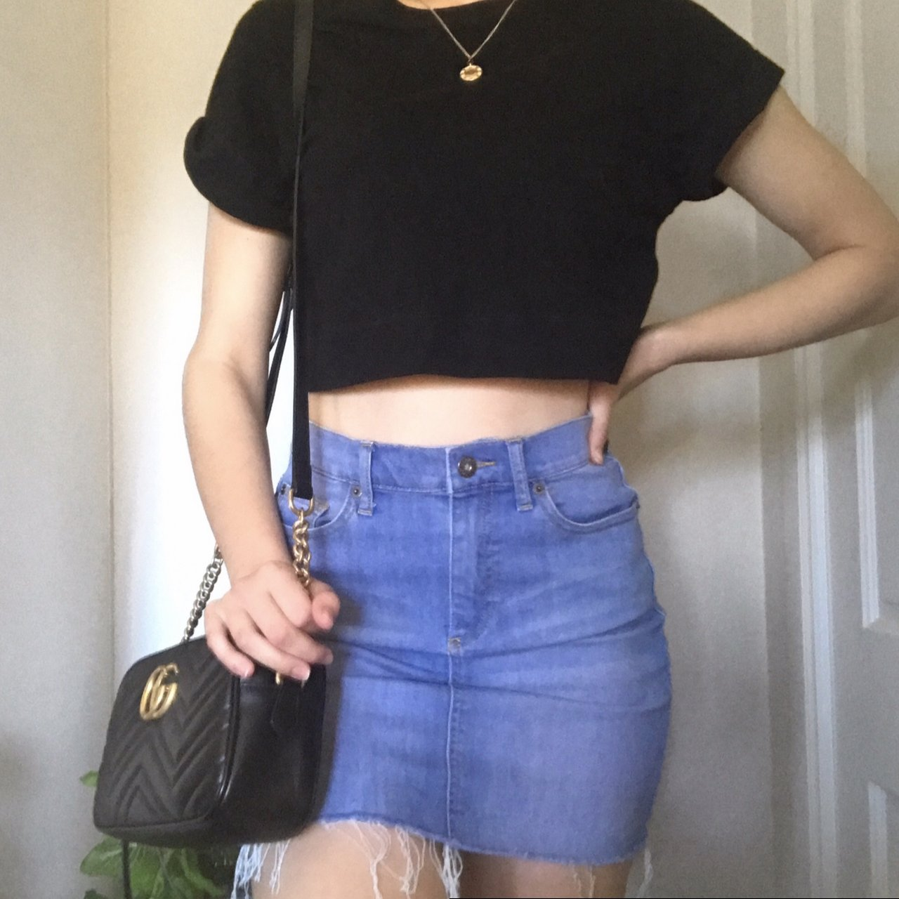 412c6dc08 What To Wear With Denim Skirt On A Night Out – DACC