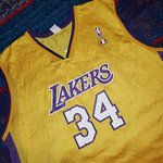 96a594a8652 NBA new style Lakers Jersey. Black on yellow. With the wish - Depop