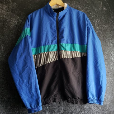 a1b52626fb Funky Colors Jacket   Size Large  champion  kappa  nike - Depop