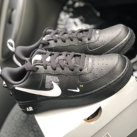 6dea72f75d @hannan19. 7 months ago. Birmingham, United Kingdom. Nike Junior Air Force 1  LV8 Utility ...