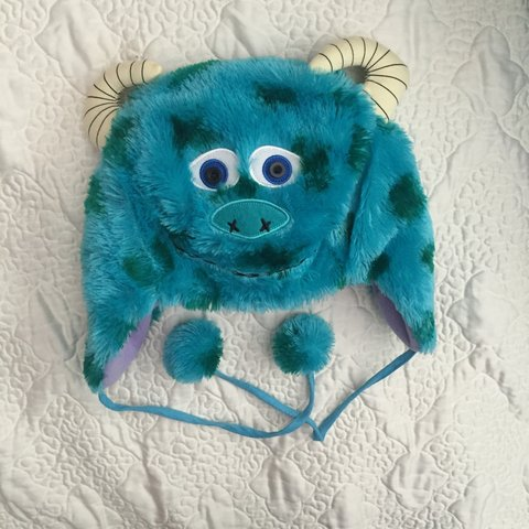 52365b07530 Unisex Sully beanie hat from monsters inc. worn once to Cute - Depop