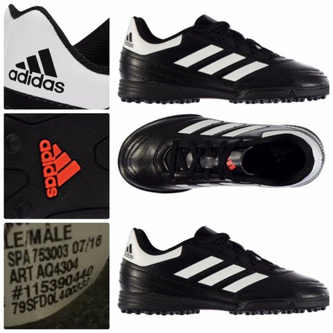 f36225d53ea Adidas Goletto Childrens Astro Turf Trainers size 13 Have a - Depop