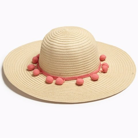 9a0e1bf7438df NEW Women s Pom Pom Floppy Sun Hat purchased from NEXT One - Depop