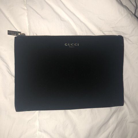 401c8864401f @jenniferkorinaa. 11 months ago. West Orange, United States. Black velvet  gucci beauty makeup bag