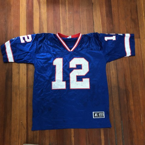 Top Vintage starter jersey Jim Kelly buffalo bills condition in Depop  supplier