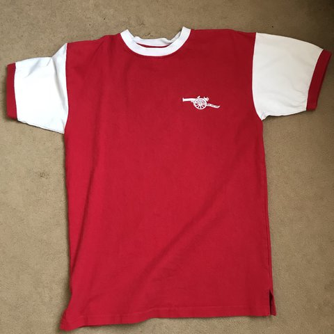 b130c3b0de8 Arsenal score draw retro 70/71 shirt Quality: 9/10 worn a M - Depop
