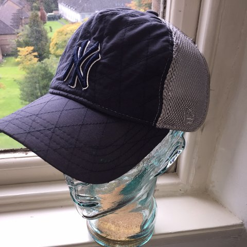 76906d885b7fb New York Yankees mesh cap with Velcro strap Does have some - Depop