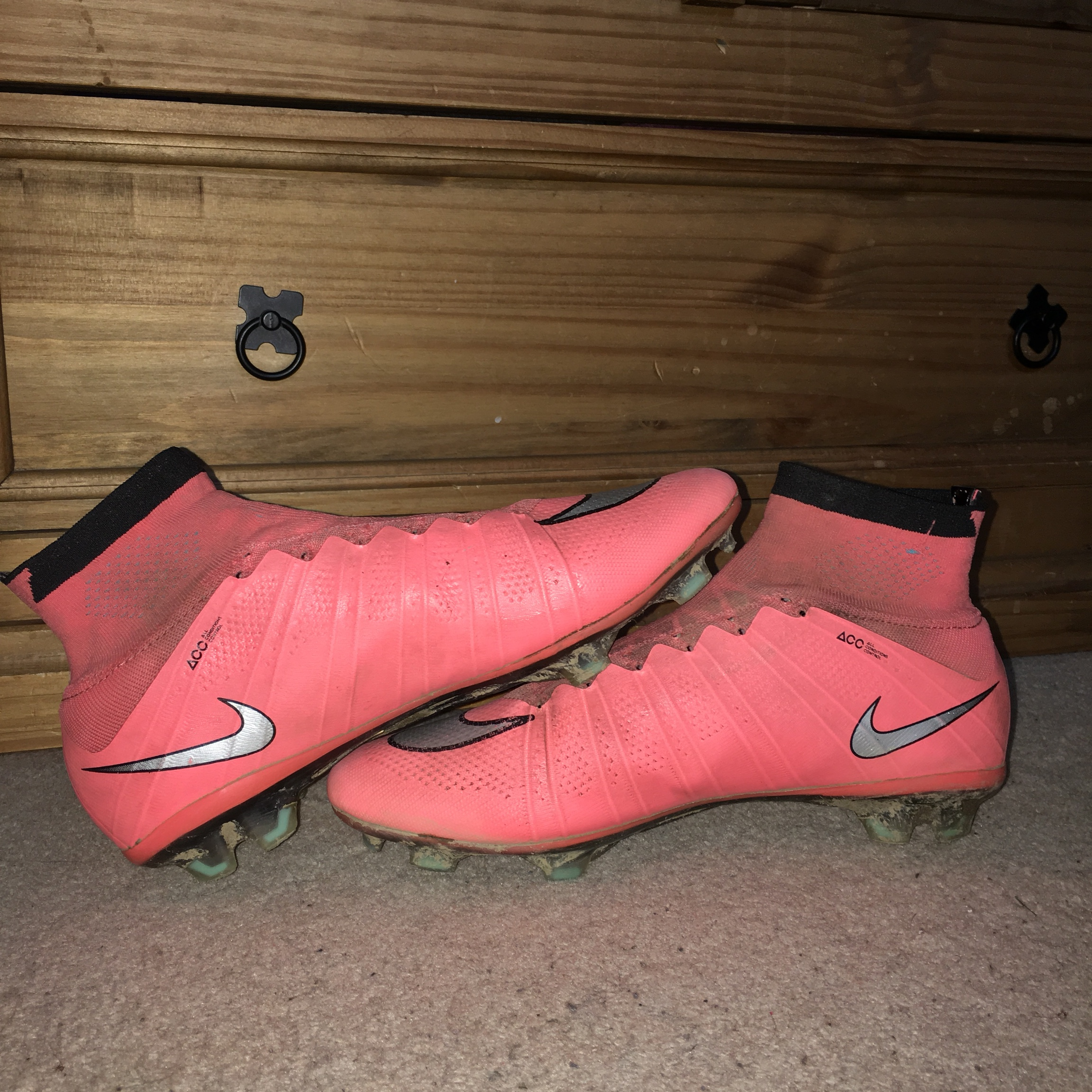 cheap for discount ff611 e5f24 Nike Mercurial Superfly 4 Pink, UK 10 Retail price... - Depop