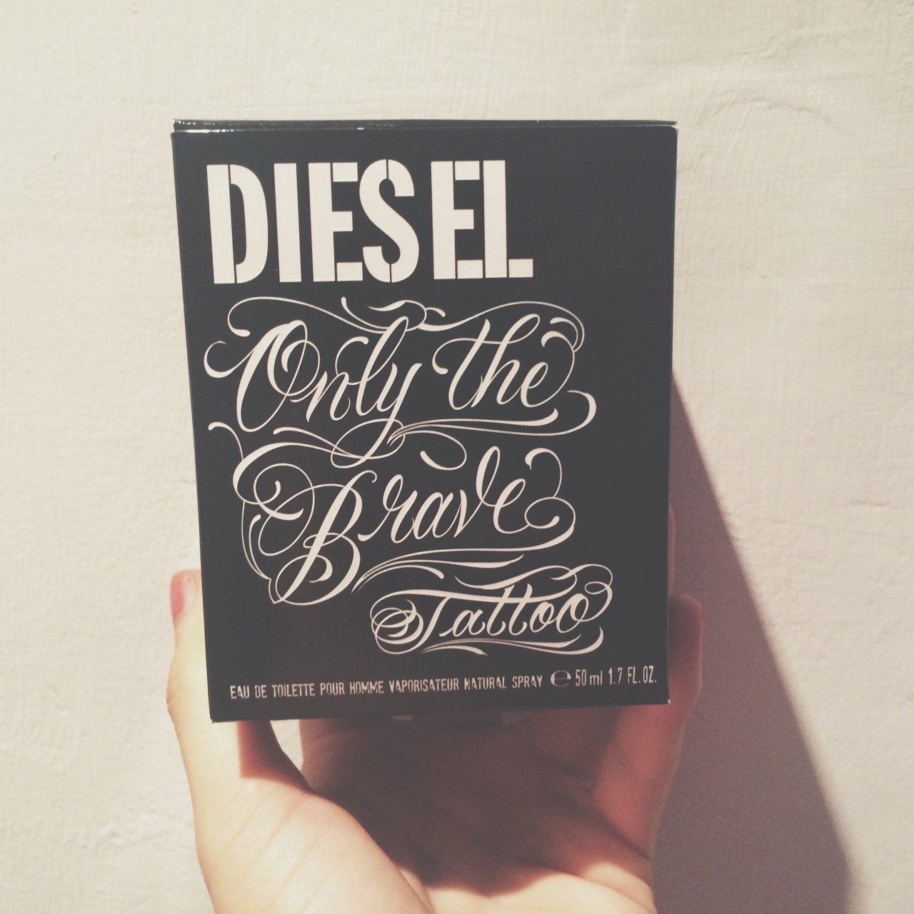 Full Unused Mens Only The Brave Tattoo Diesel Aftershave Depop