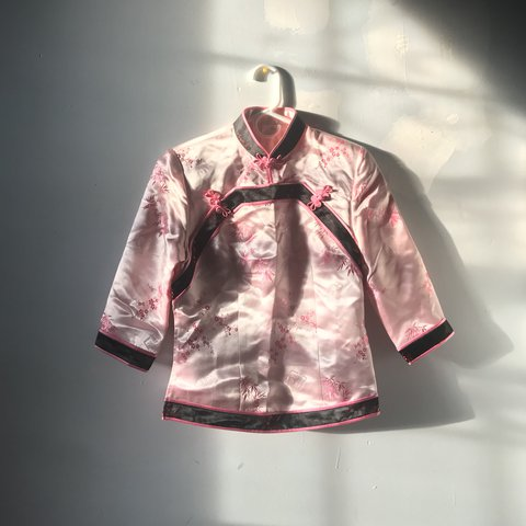 b14799d88 @aeghead. last year. New York, United States. gorgeous authentic Chinese  traditional pink silk ...