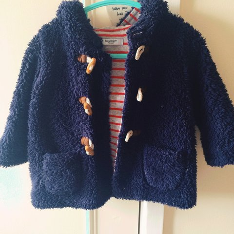 7c747cd60 Baby Boden fluffy coat. Gorgeous warm coat with a fluffy has - Depop
