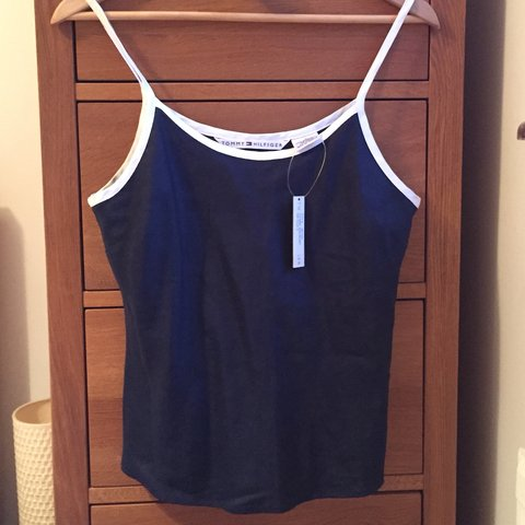 5f22373e @correnperks. last year. Bedford, United Kingdom. Genuine Tommy Hilfiger  cami top. Never worn ...