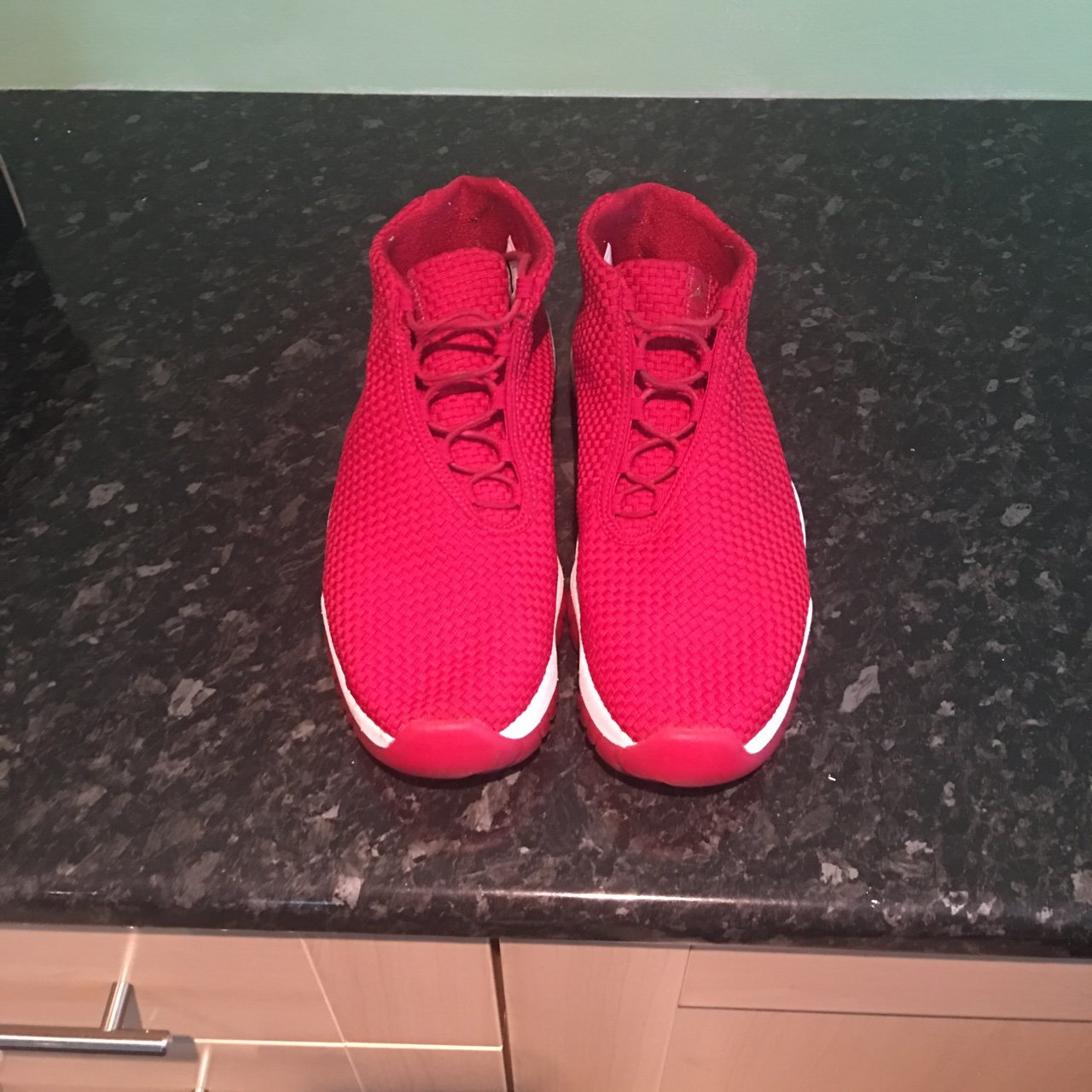 6f82d75ce74 Nike Air Jordan Future Gym Red.. UK11.. Great condition as a - Depop