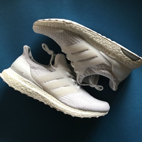 52a54b1e2 ⚪️TRIPLE WHITE ULTRA BOOST 3.0 ⚪ NEW WITH BOX AND TAGS