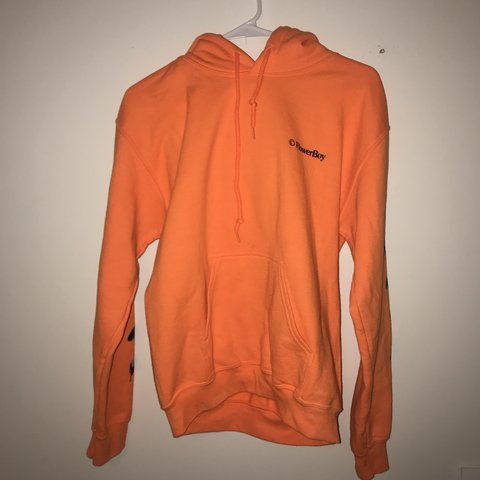 a121971f14a796 golf wang orange save the bees hoodie size small worn once