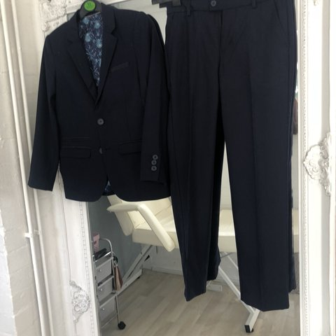 c0694f56ee7a Boys age 10 ted baker suit Like new only been worn once - Depop