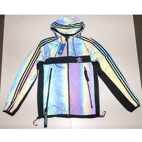 1cbc71c3f Adidas Xeno (multi   black) reflective hoody jacket new