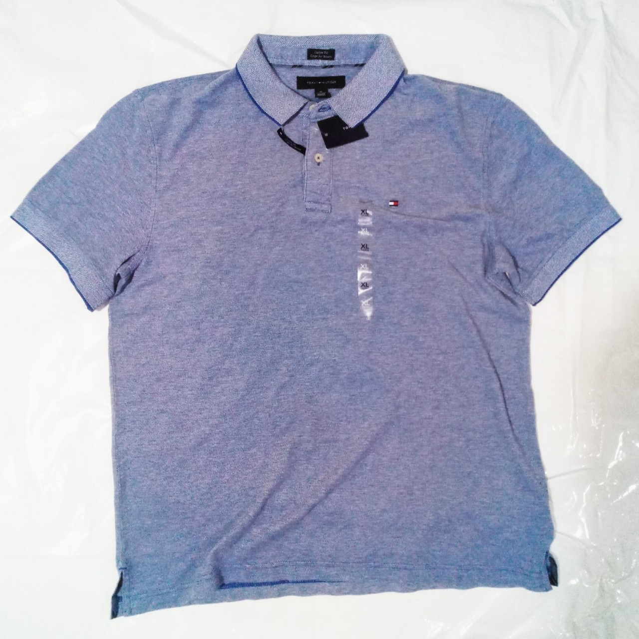 Tommy Hilfiger POLO SHIRT new with tag MEN/'S CUSTOM Fit