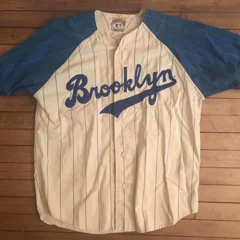 Amazing Brooklyn Dodgers Duke Snider jersey from the hall of - Depop 17420f3ffe3
