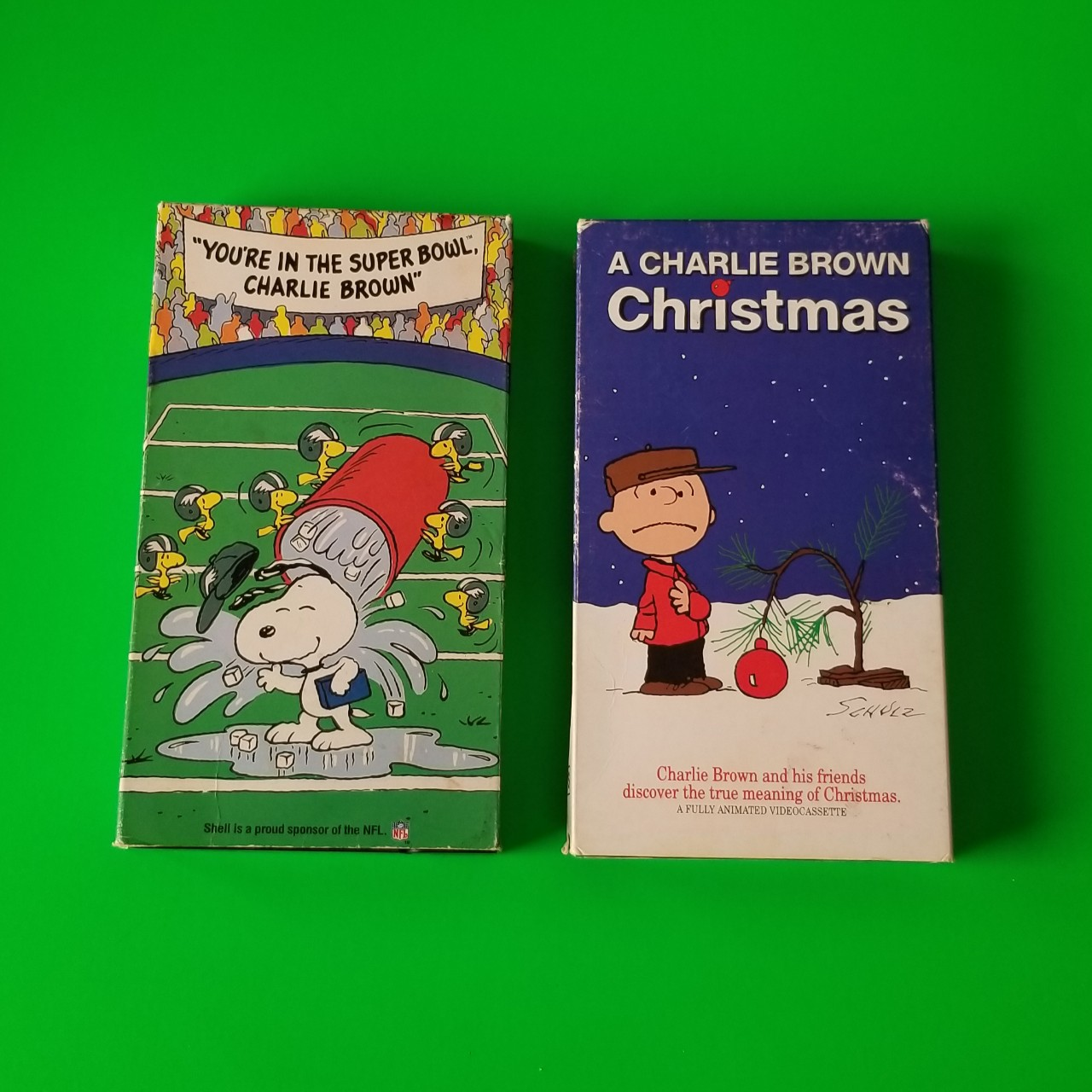 A Charlie Brown Christmas Vhs.2 Charlie Brown Vhs Tapes You Will Receive Both Depop