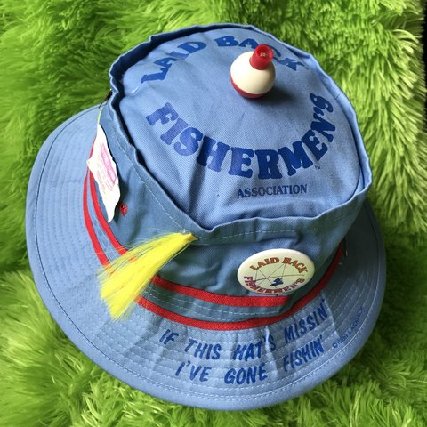 Vintage Fishermans Bucket Hat If The Hats