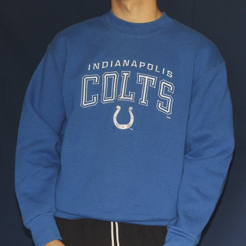 Vintage Indianapolis Colts sweatshirt by Pro Player SIZE   - Depop 22e35ae5f