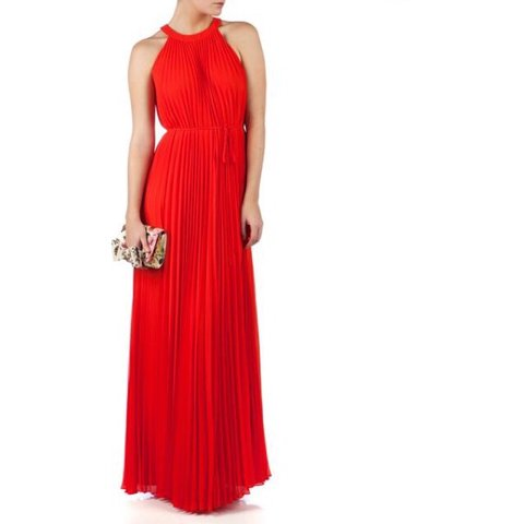 c077f75ea Ted Baker Haylea pleated maxi dress