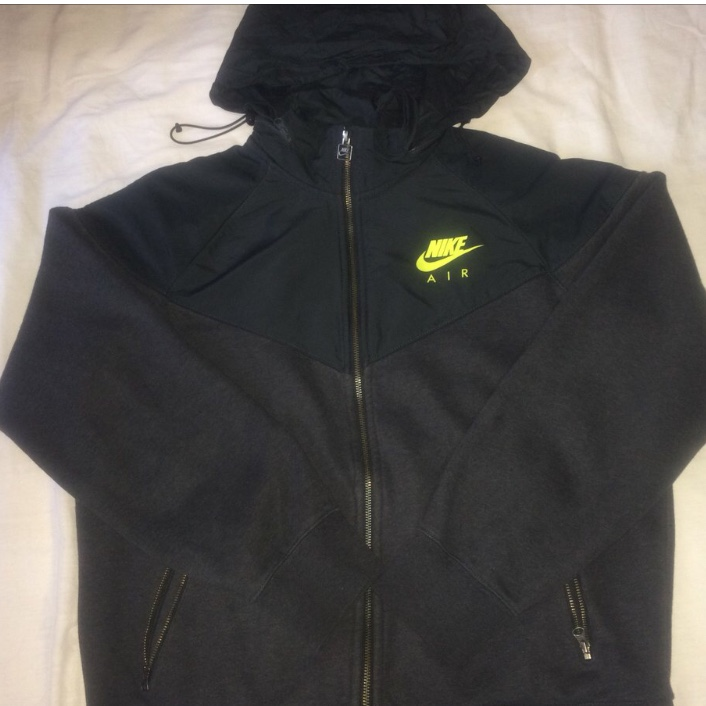 Nike Air Track JacketWindbreakerhoodie w Packable Depop