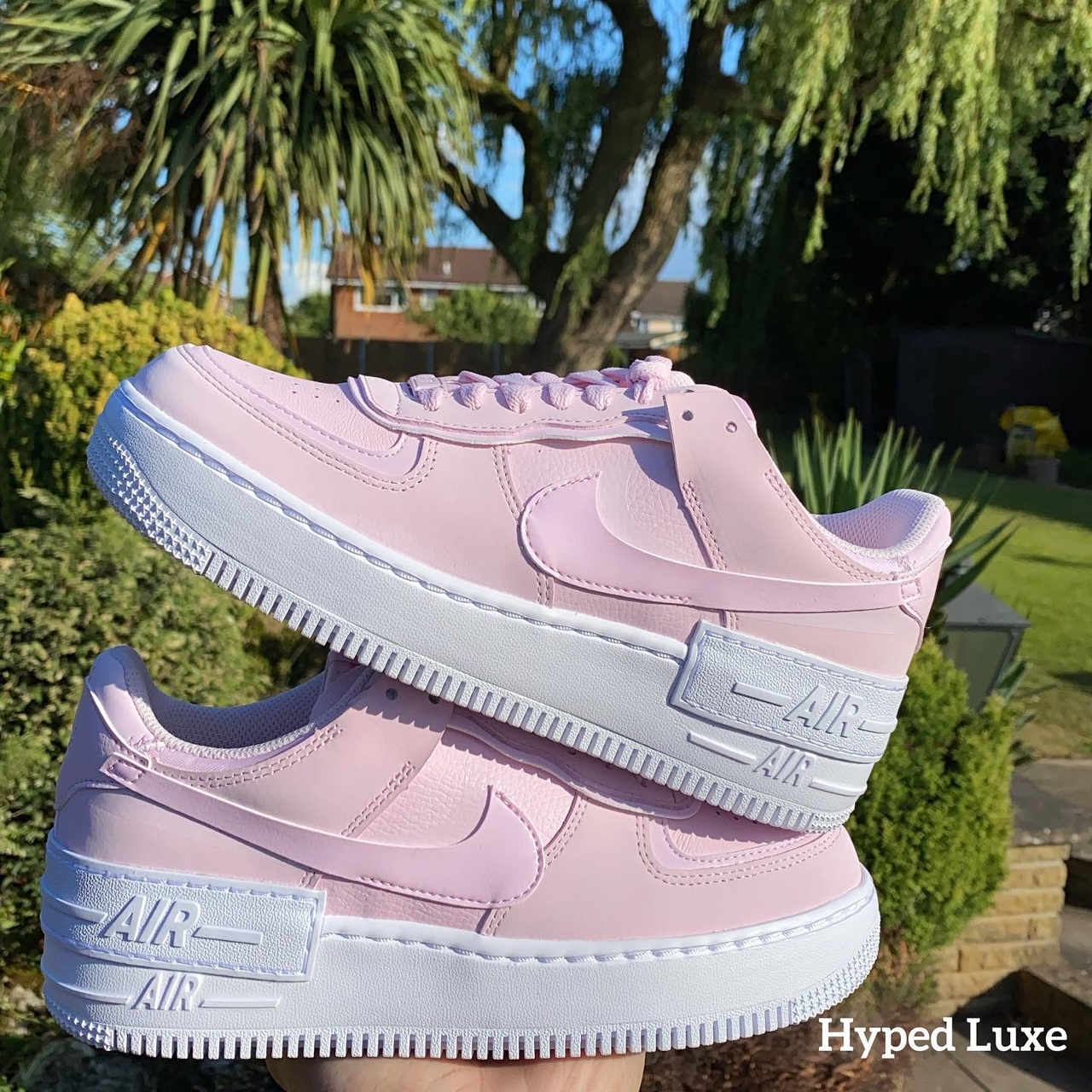 Nike Air Force 1 Shadow Pink Foam Uk5 5 5 Ignore Depop