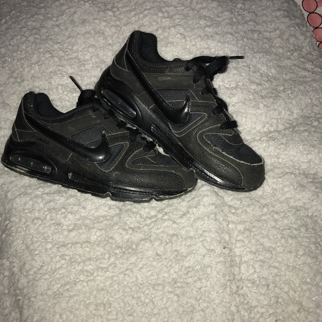 exquisite style famous brand exclusive shoes Black Nike air max. 100% genuine. Bought from JD 1... - Depop