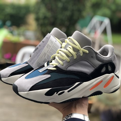 4debdca94 ADIDAS YEEZY BOOST 700 wave runner New with tags in the box - Depop