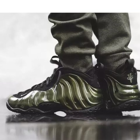 c4c68a5c4e4 Nike Air Foamposite One Legion green and black UK 12 eur - Depop