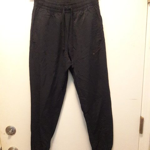 31b80ba5 @vtgblvd. 10 months ago. Chicago, Cook County, United States. Navy blue  Nike track pants with back. Pocket Great condition, almost new