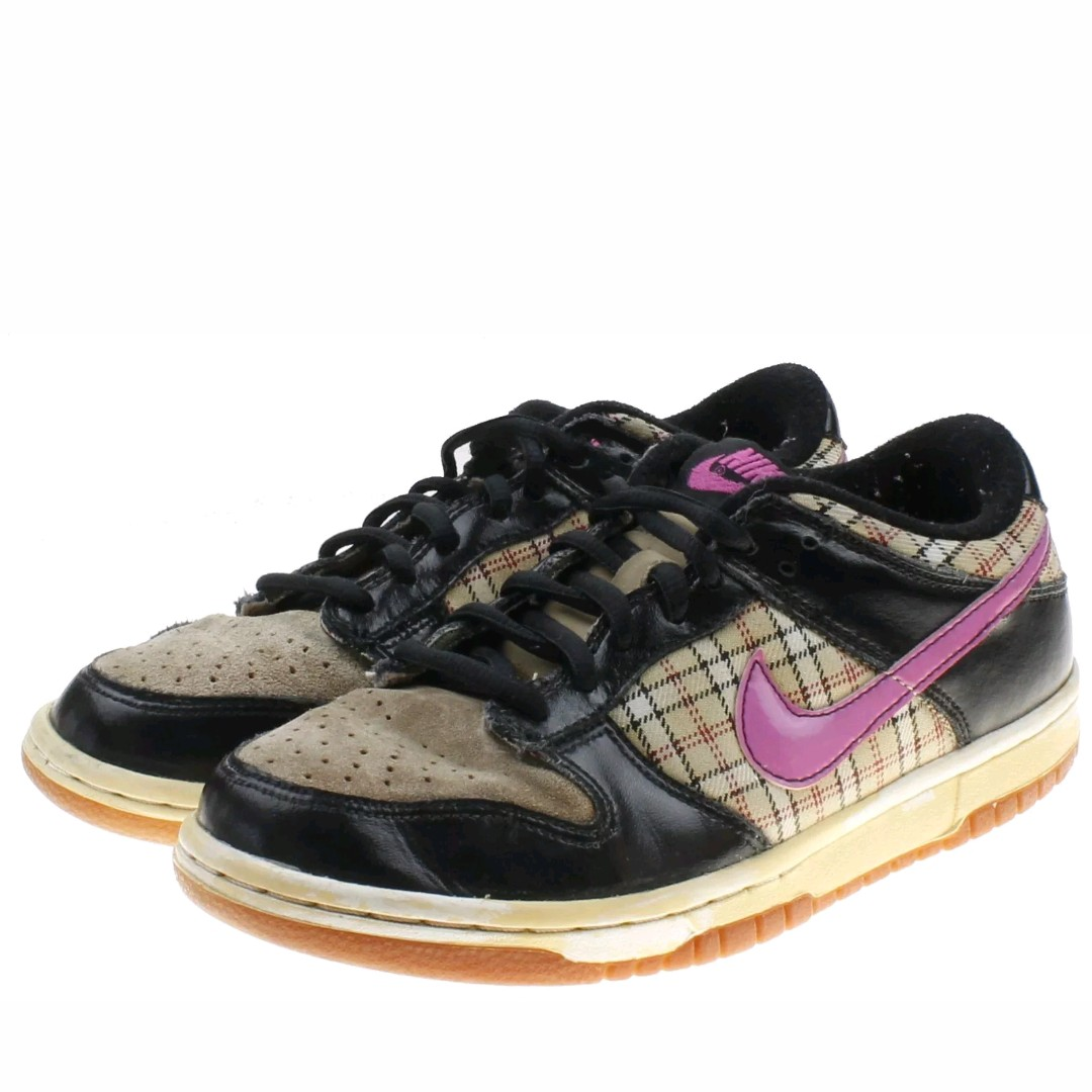 available good service special sales Nike SB Dunk Low Vintage Sneaker pink and brown Size ...