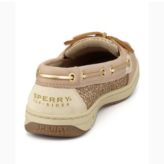 Sperry Angelfish Shoes Gold Glitter Retail Depop