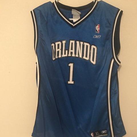 1e4956e08 Tracy McGrady NBA Orlando Magic Jersey - Depop