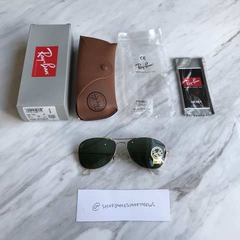 7a2f3abe87cf5 Brand New Authentic Ray-Ban Sunglasses Style  Cockpit     - Depop